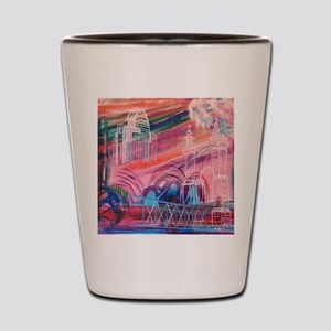 Downtown Cincinnati Shot Glass
