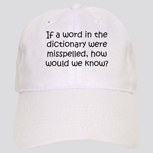 Misspelled word in Dictionary Cap