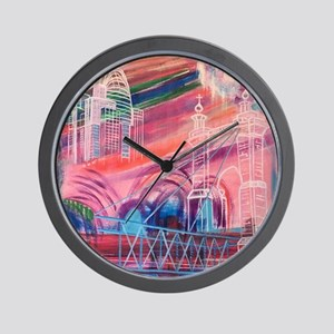 Downtown Cincinnati Wall Clock