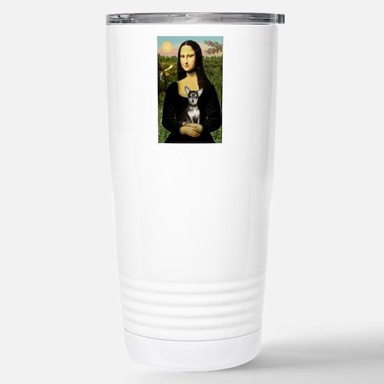 Mona's Chihuahua (BT) Stainless Steel Travel Mug