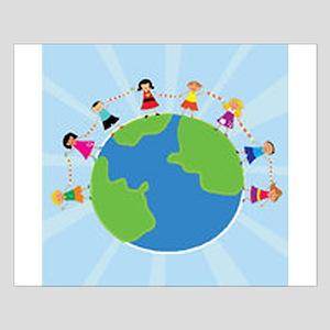 Kids Around the World Small Poster