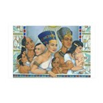 Amarna Family Portrait 38.5 x 24.5 Wall Peel