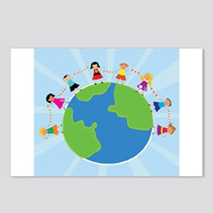 Kids Around the World Postcards (Package of 8)
