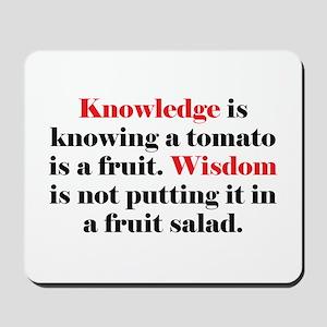 Tomato Knowledge Mousepad