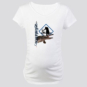 Bowfishing Maternity T-Shirt