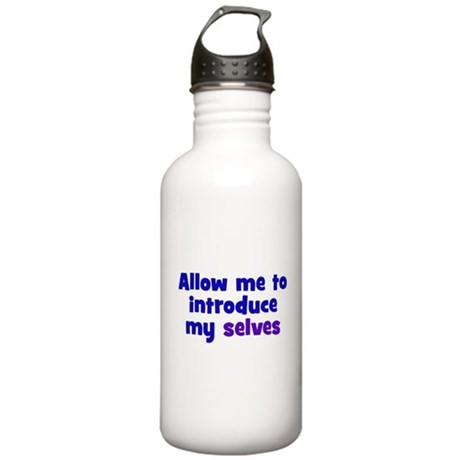 Introduce My Selves Stainless Water Bottle 1.0L