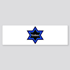 Yeshua Star of David Bumper Sticker