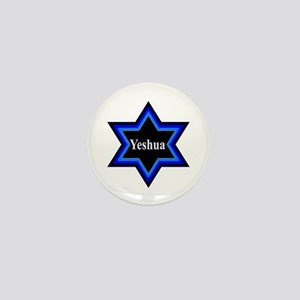 Yeshua Star of David Mini Button