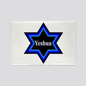 Yeshua Star of David Rectangle Magnet