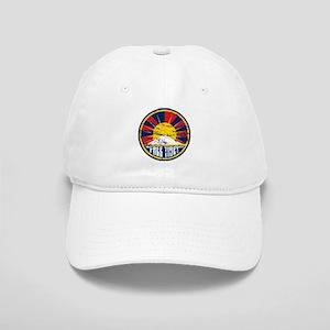 Free Tibet Grunge Cap