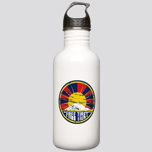 Free Tibet Grunge Stainless Water Bottle 1.0L