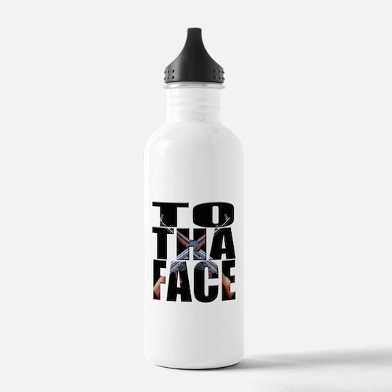 To Da Face Call of Duty AK Water Bottle