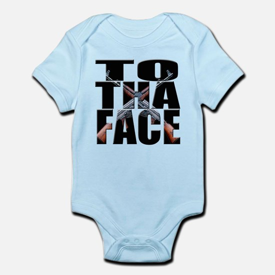 To Da Face Call of Duty AK Infant Bodysuit