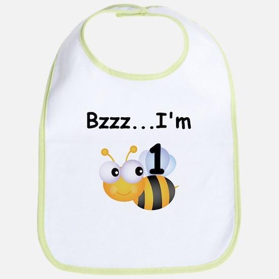 Buzz Bee 1st Birthday Bib