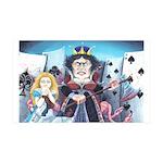Queen of Hearts 38.5 x 24.5 Wall Peel