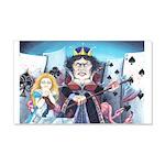 Queen of Hearts 22x14 Wall Peel