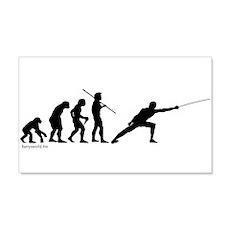 Fencing Evolution 22x14 Wall Peel