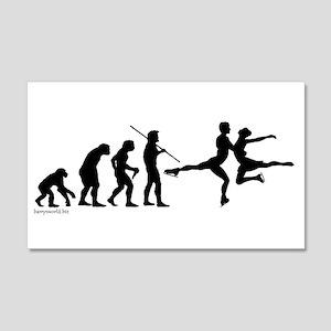 Skate Evolution 22x14 Wall Peel