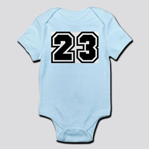 Varsity Uniform Number 23 Infant Creeper