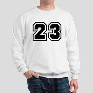 Varsity Uniform Number 23 Sweatshirt