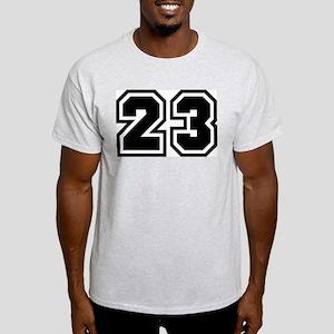 Varsity Uniform Number 23 Ash Grey T-Shirt