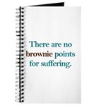 No Brownie Points for Sufferi Journal
