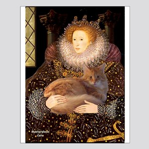 Queen / Red Maine Coon Small Poster