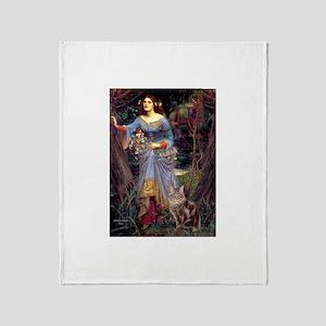 Ophelia / Throw Blanket