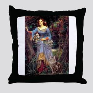Ophelia / Throw Pillow