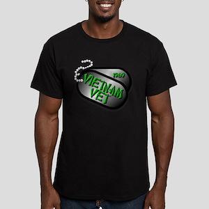 1969 Vietnam Vet Men's Fitted T-Shirt (dark)