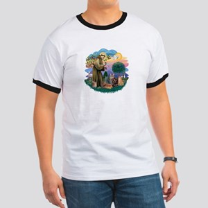 St Francis / 4 Cats Ringer T