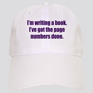 Writing a Book Cap