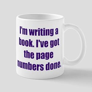 Writing a Book Mug