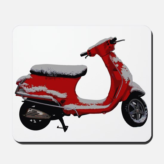 Scooter Snow Mousepad
