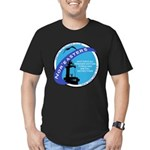 Nor'easters Club Men's Fitted T-Shirt (dark)