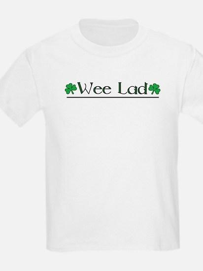 Wee Lad (Shamrocks) T-Shirt