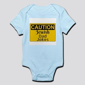 Caution: Jewish Dad Jokes Body Suit