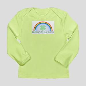 Mommy's Lucky Charm Long Sleeve Infant T-Shirt