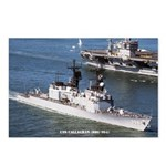 USS CALLAGHAN Postcards (Package of 8)