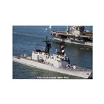 USS CALLAGHAN Rectangle Magnet