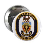 "USS CALLAGHAN 2.25"" Button"