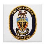 USS CALLAGHAN Tile Coaster