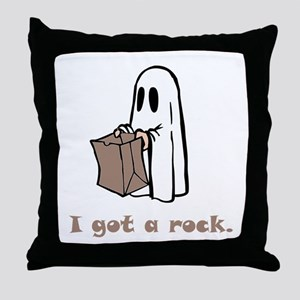 I Got A Rock! Throw Pillow