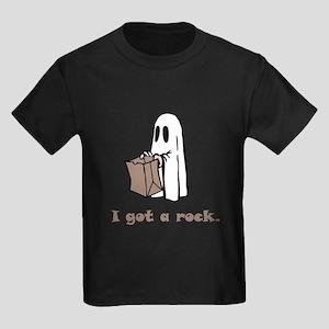 I Got A Rock! Kids Dark T-Shirt