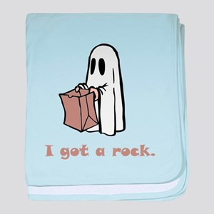 I Got A Rock! baby blanket