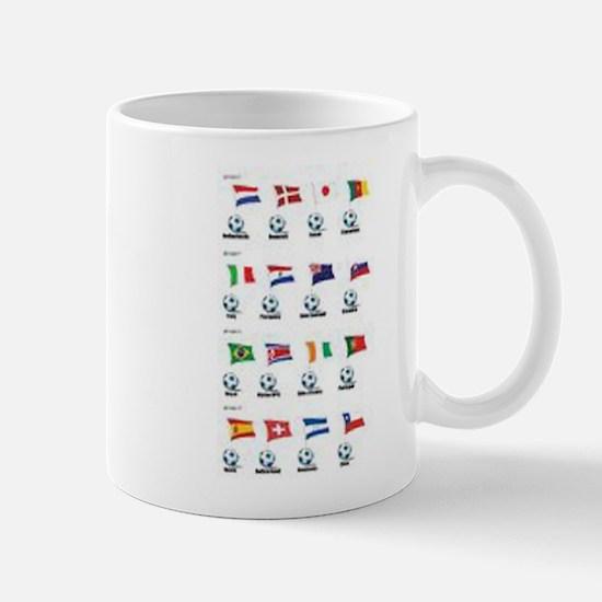 Soccer Balls and Flags Mug