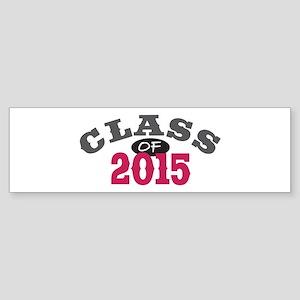 Class Of 2015 Red Sticker (Bumper)