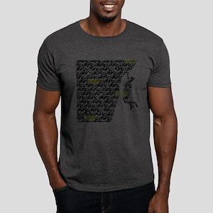 Chasm pattern Rock Climber Dark T-Shirt