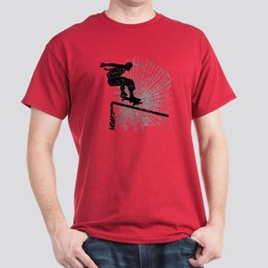 Skateboard Rail Dark T-Shirt