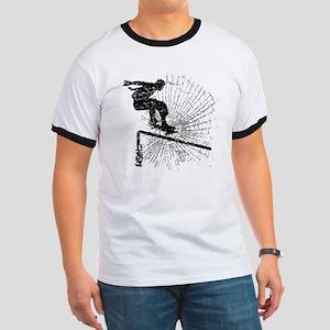 Skateboard Rail Ringer T